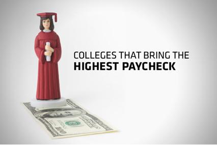Học đại học nào ở Mỹ để có mức lương cao nhất?