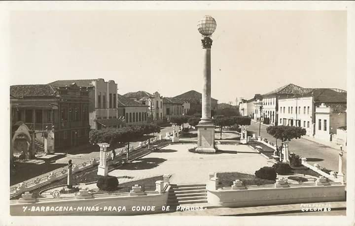 Praça Conde de Prados Barbacena MG