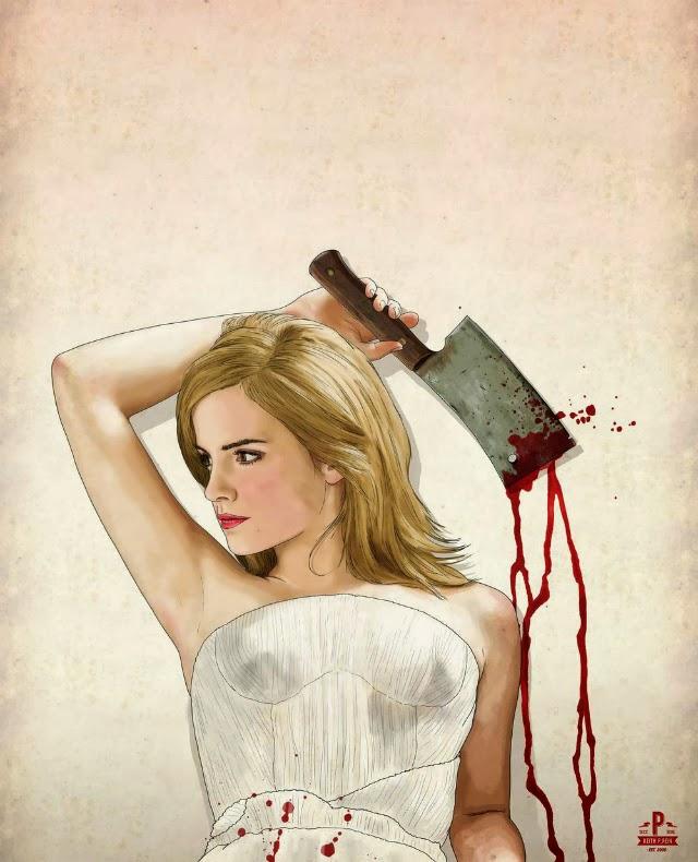 Emma Watson Asesinas famosas