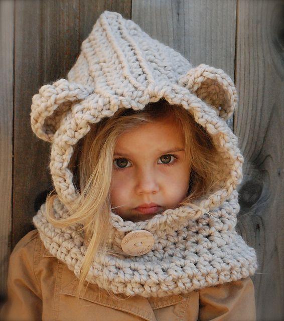 Nitt S Blog: Capucha con orejitas de oso