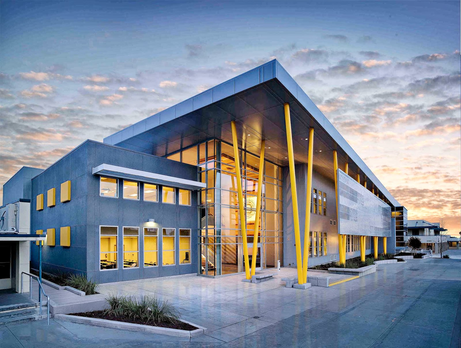 Darden architects inc edison high school academic for Building design website