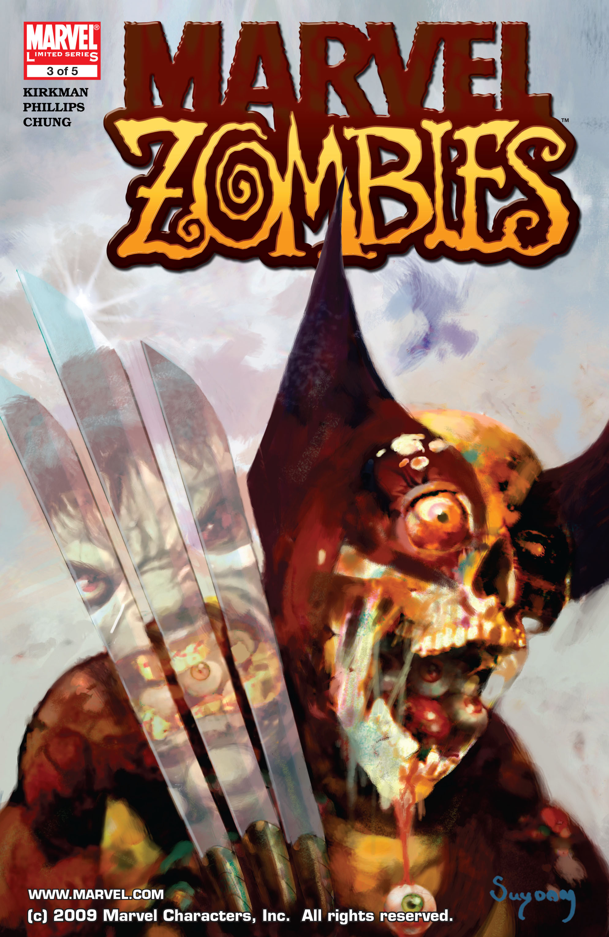 Marvel Zombies (2006) Issue #3 #3 - English 1