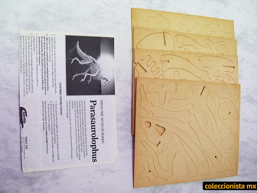 Esqueletos de dinosaurio en madera - Safari Series (1993 ...