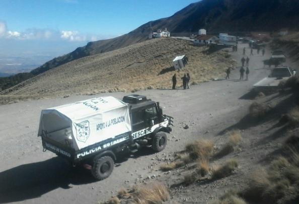 Paisaje del volcán de Toluca