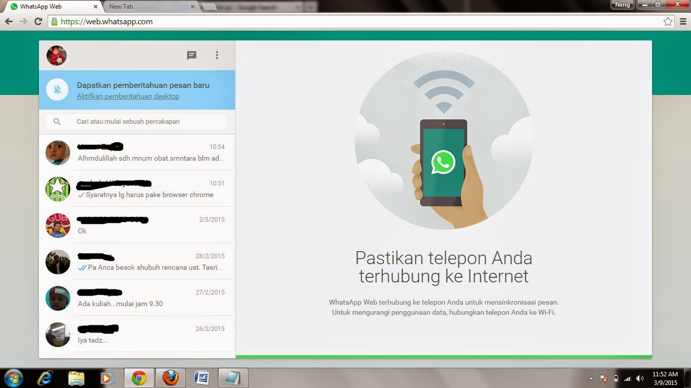 Gambar WhatsApp for PC