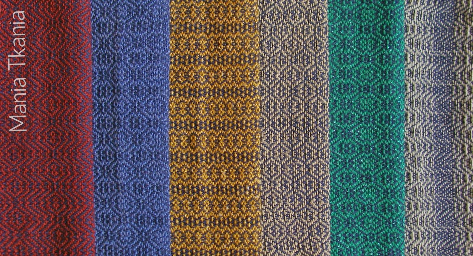 ręcznie tkany materiał