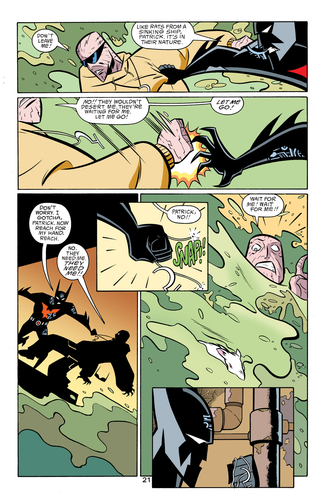 Batman Beyond [II] Issue #17 #17 - English 22