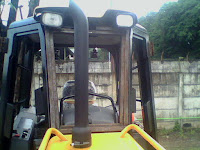 Karoseri pembuatan cabin alat berat