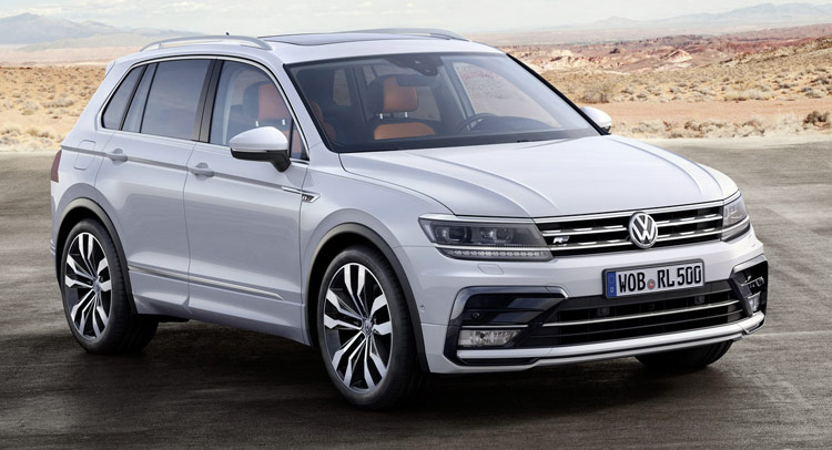 VW has pulled the wraps off the new generation of its Tiguan , the