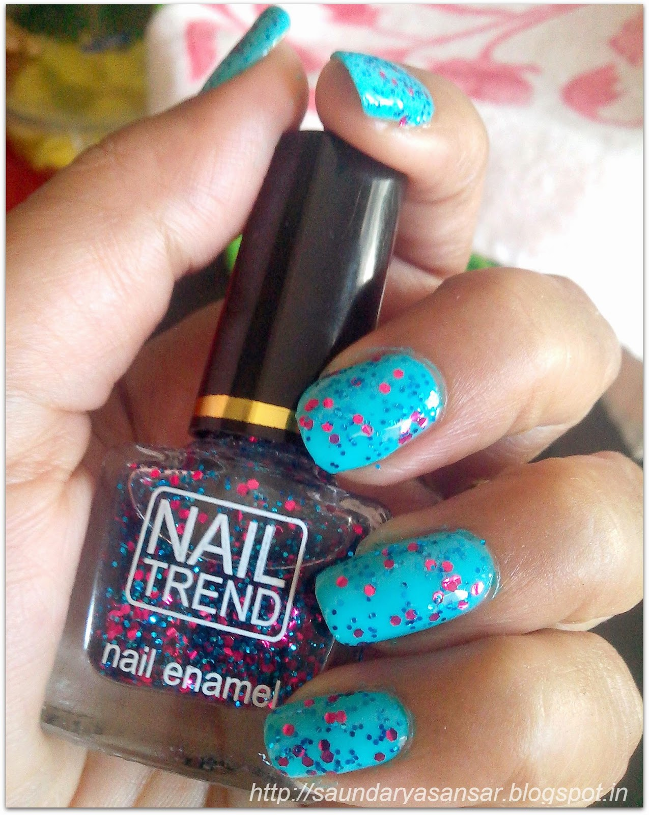 Beauty and Fashion obsessions: Pretty Nails with NAIL TREND in Peppy ...