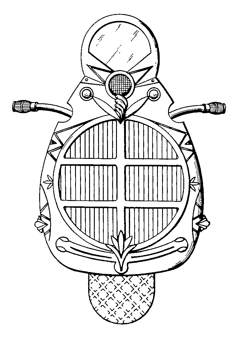 State Seal Of Michigan Coloring Pages Michigan State Flag Coloring Page