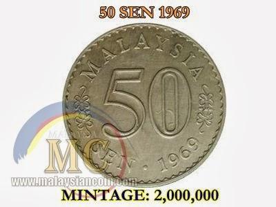 50 sen 1969