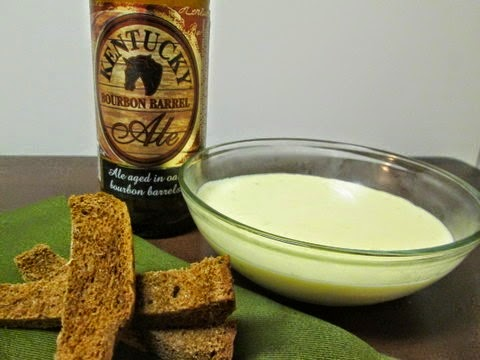 KY Bourbon Barrel Ale beer cheese