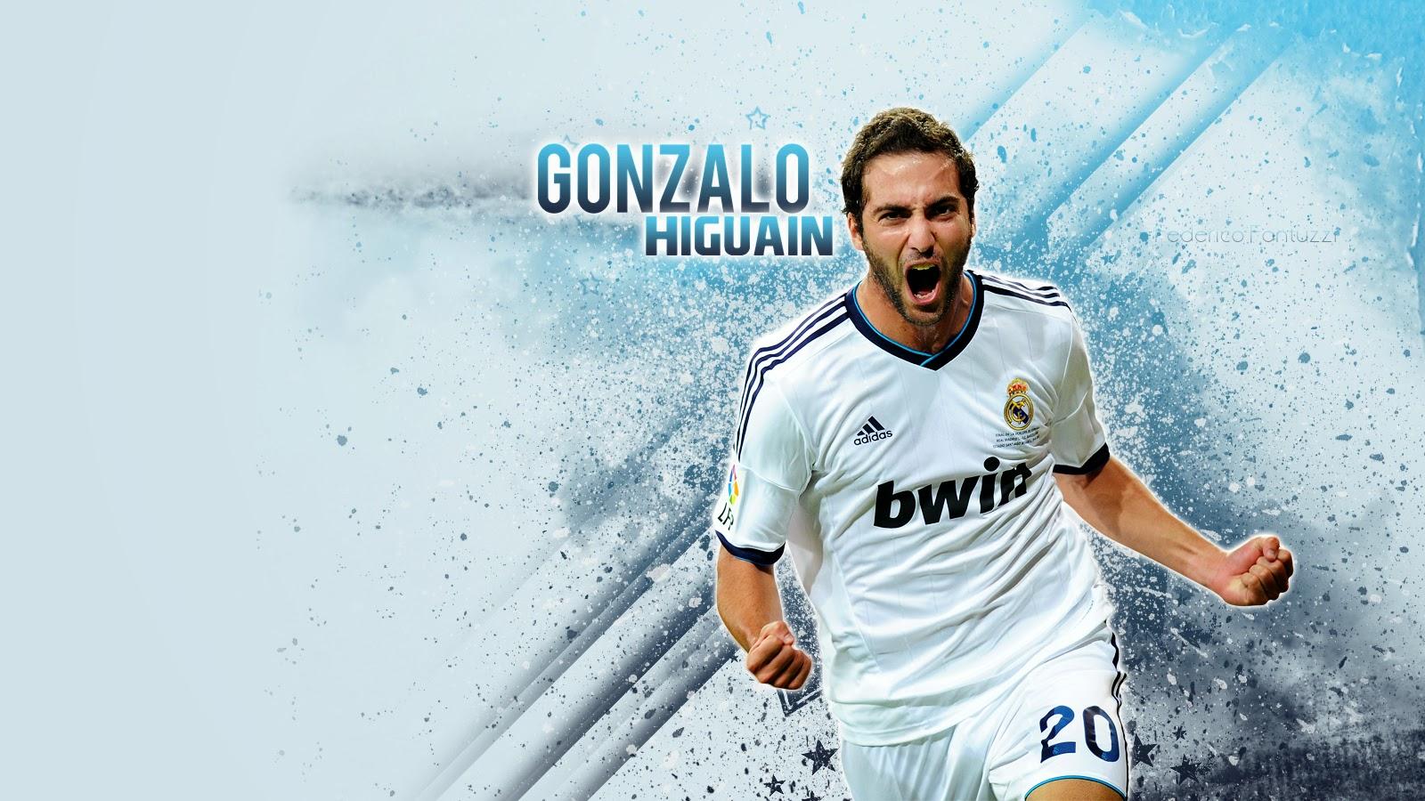 Football Wallpapers Hd New Gonzalo Higuaín Wallpaper Hd Real Madrid