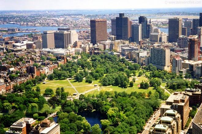 El Boston Common, el parque público más antiguo de EEUU