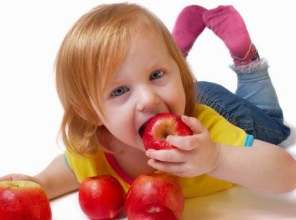 bons hábitos alimentares na infância