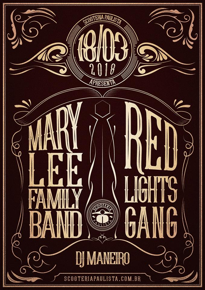 MARY LEE FAMILY BAND (PR) + RED LIGHTS GANG