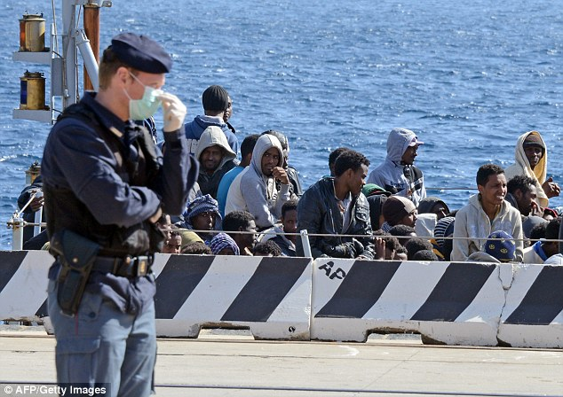 The boat carrying the Nigerian Muslims who drowned Christians arrives in Italy