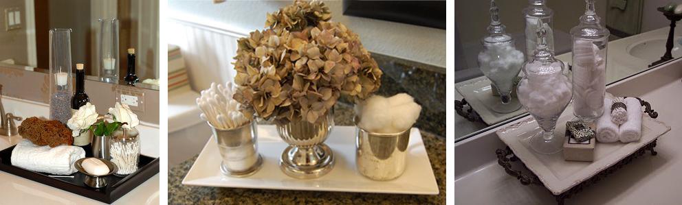 Pashion charolas decorativas for Objetos de decoracion para banos