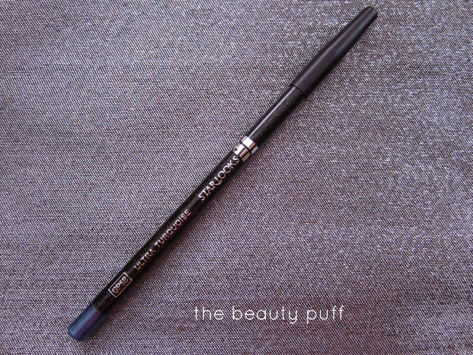 starlooks gem eye pencil ultra turquoise - the beauty puff