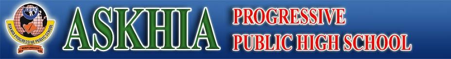 ASKHIA PROGRESSIVE PUBLIC HIGH SCHOOL