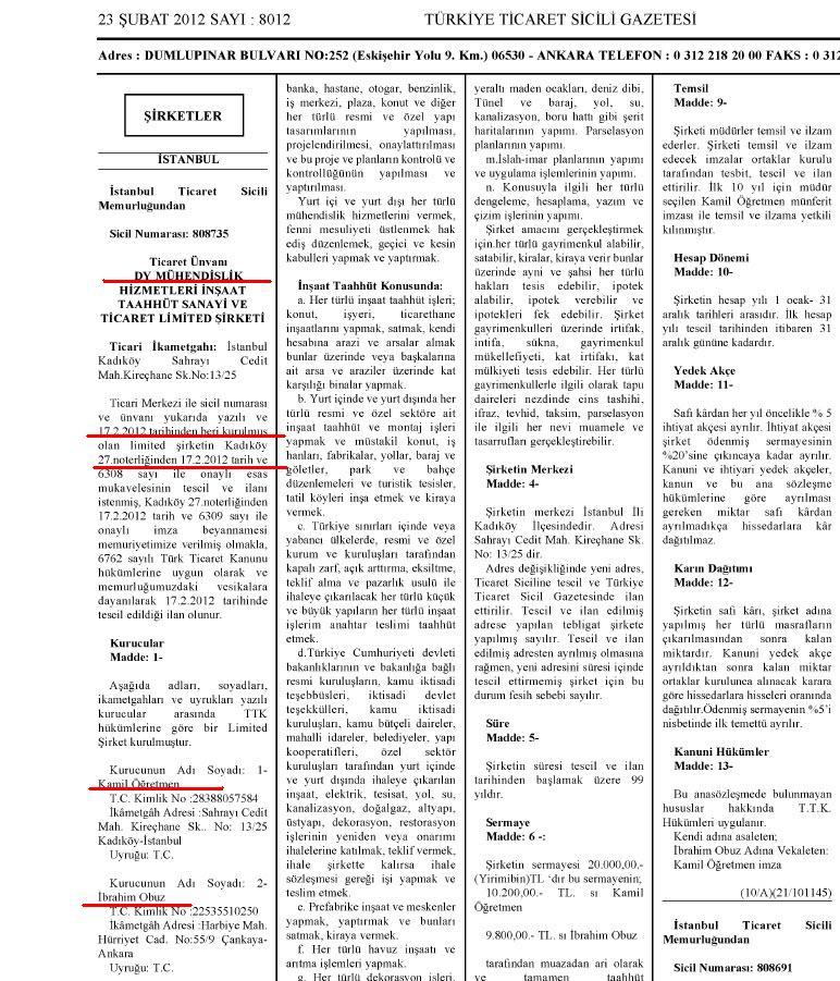 Ticaret Sicil Gazetesi
