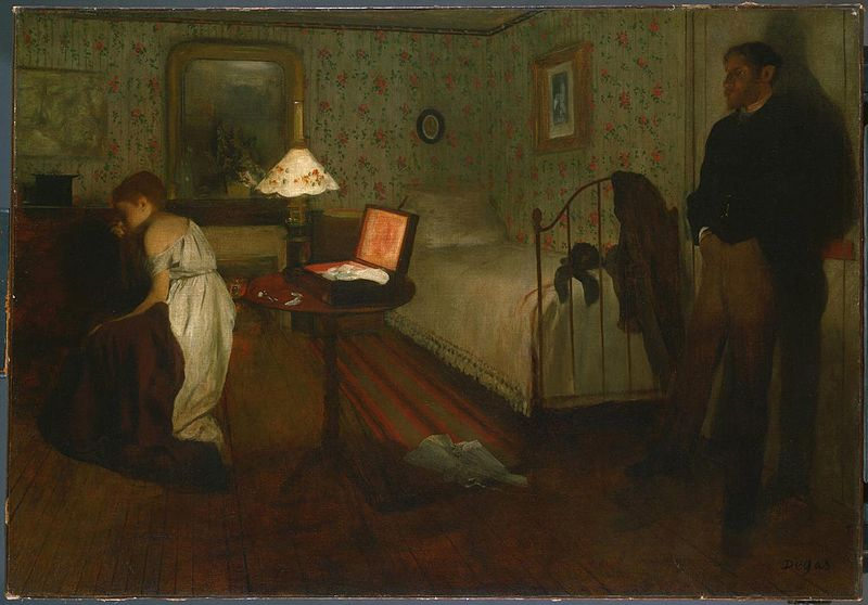 Sguardi notturni painting of the week int rieur le for Interieur in english