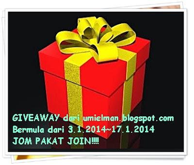 Giveaway dari umielman.blogspot.com