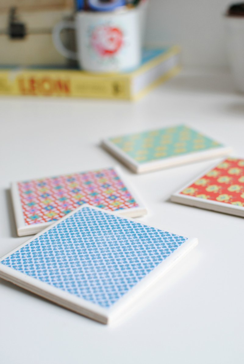 Diy Make Your Own Tile Coasters