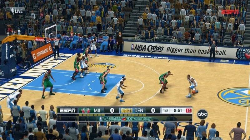 NBA 2K14 Various Watermarks & Overlays Mod (ESPN, TNT, FOX etc.) - NBA2K.ORG