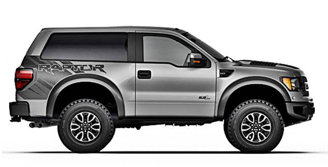 2017 Ford Bronco Svt Raptor Concept Icars Reviews