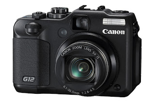 canon powershot g12 front