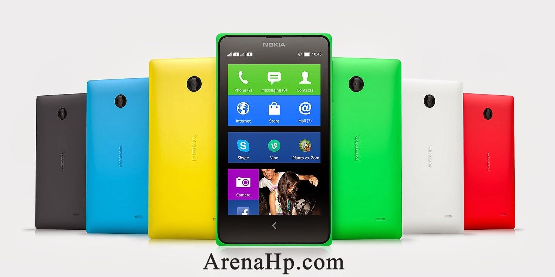 Harga dan Spesifikasi Smartphone Nokia X Android