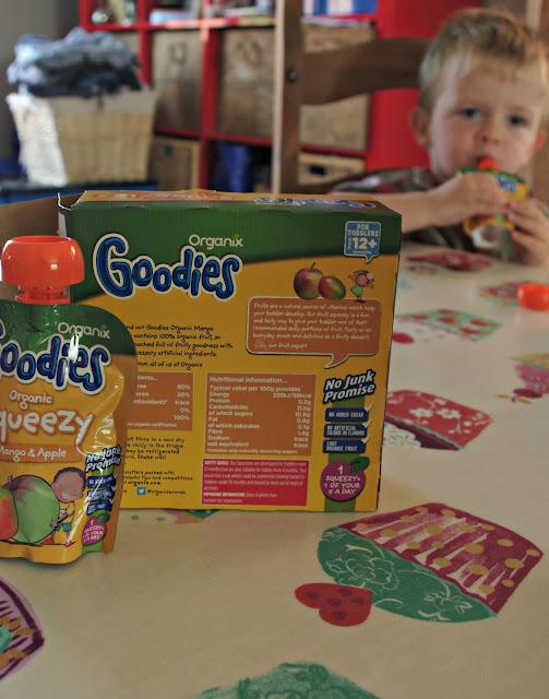 Organix Goodies Squeezy