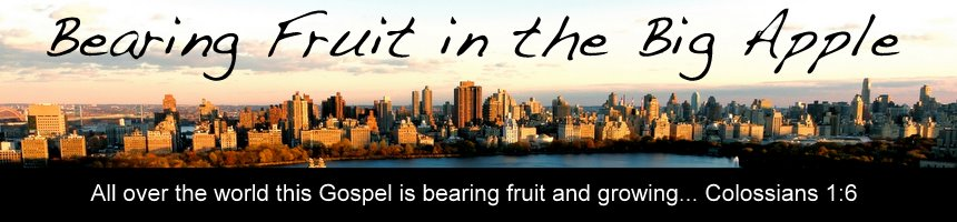 Bearing Fruit in the Big Apple