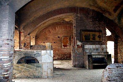 Cantinero dave antecedentes bares pub thermopolias for Cucina romana antica
