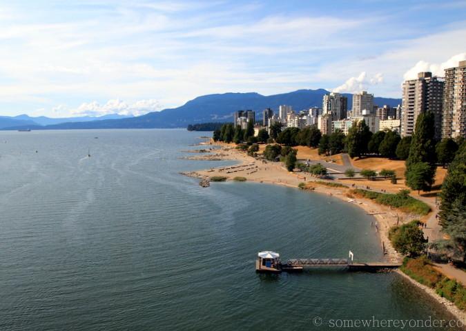 Vancouver, Canada coastline