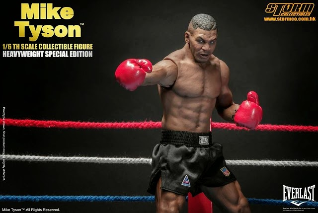 Onesixthscalepictures Storm Toys Mike Tyson Heavyweight