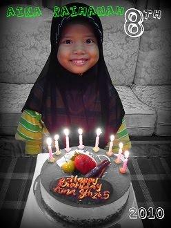 My Sister ''Aina Raihanah''