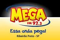 ouvir a Rádio Mega FM 92,3 ao vivo e online Ribeirão Preto