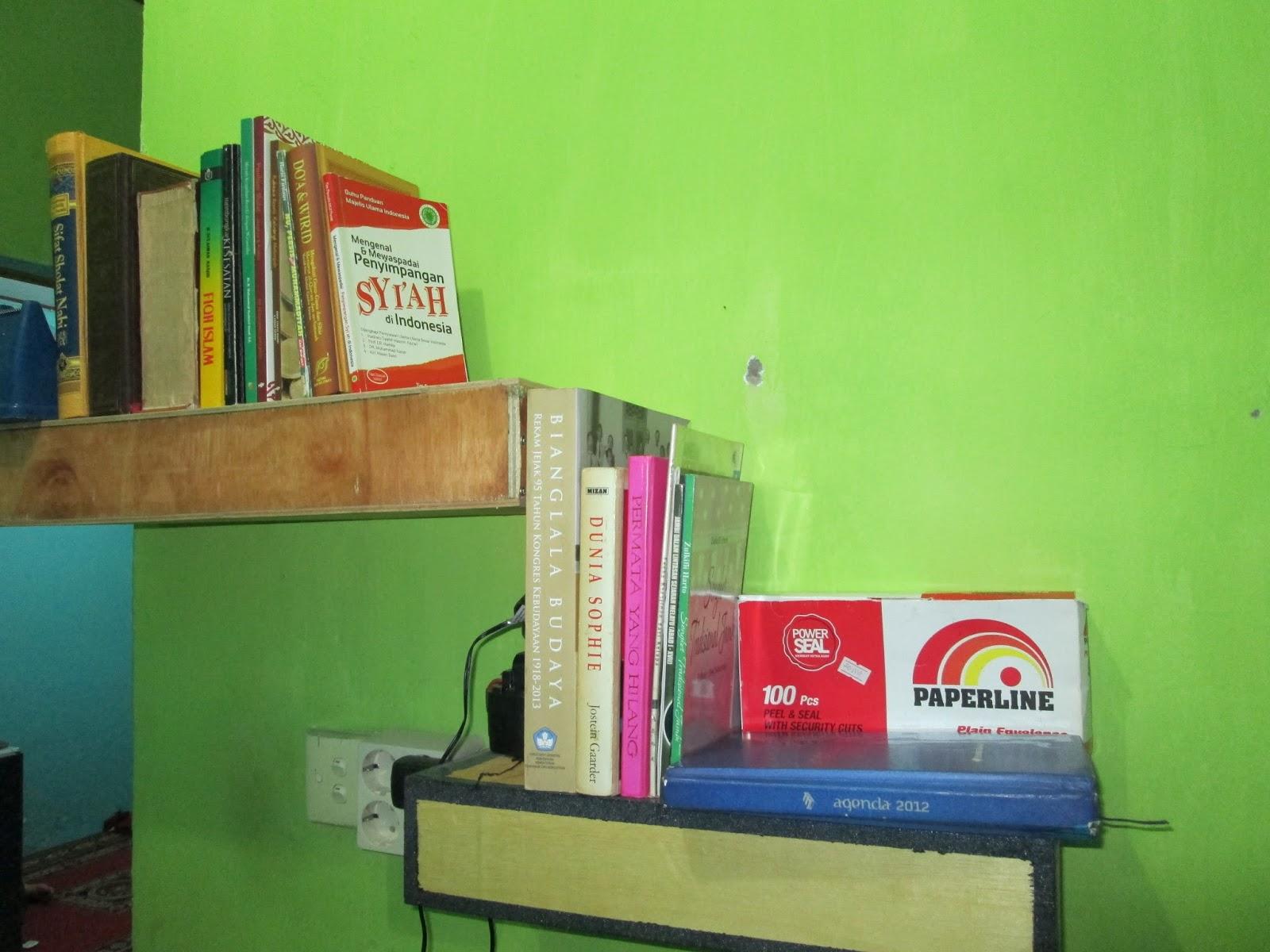 experience experiments cara membuat rak buku minimalis