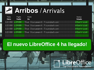 LibreOffice 4 versión final ya disponible, novedades libreoffice 4, instalar libreoffice 4 en ubuntu
