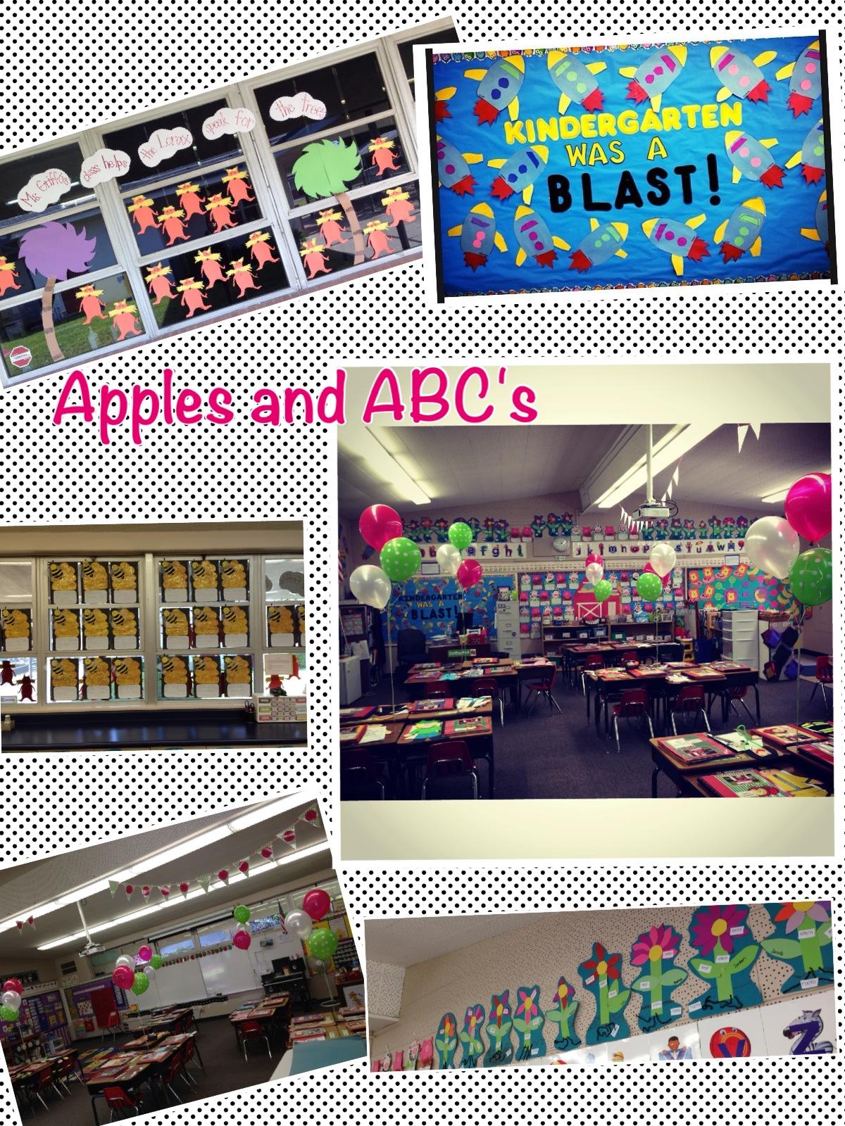 open house in kindergarten apples and abc s
