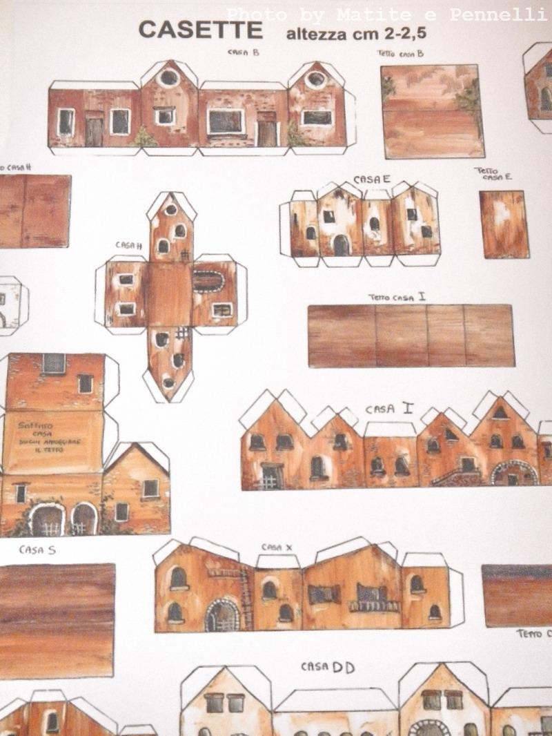 Matite e pennelli novembre 2013 - Casette di cartone da costruire ...