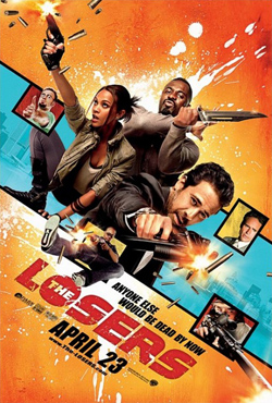The Losers 2010  poster