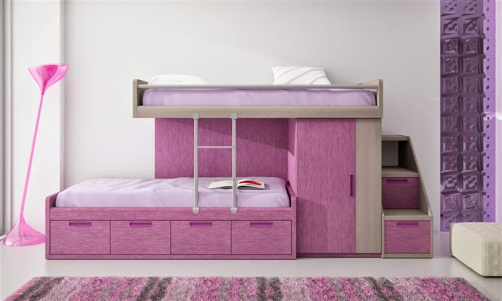Decorar habitaciones juveniles peque as decoracion de habitaciones juveniles for Habitaciones juveniles 3 camas