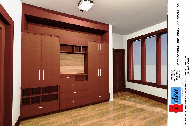 Ideatumobiliario dormitorios closets for Modelo closet para habitaciones