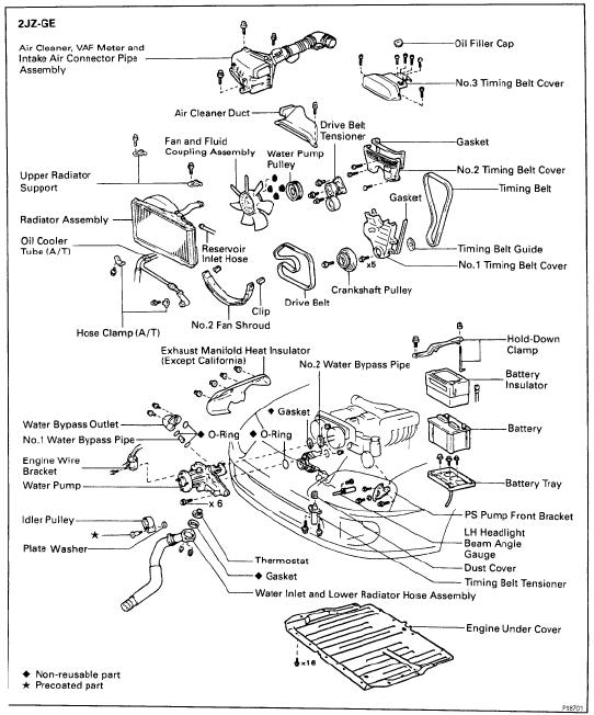 toyota_supra_engine_bay_repair repair manuals toyota supra mk4 1995 engine repair manual toyota wire harness repair manual at gsmx.co