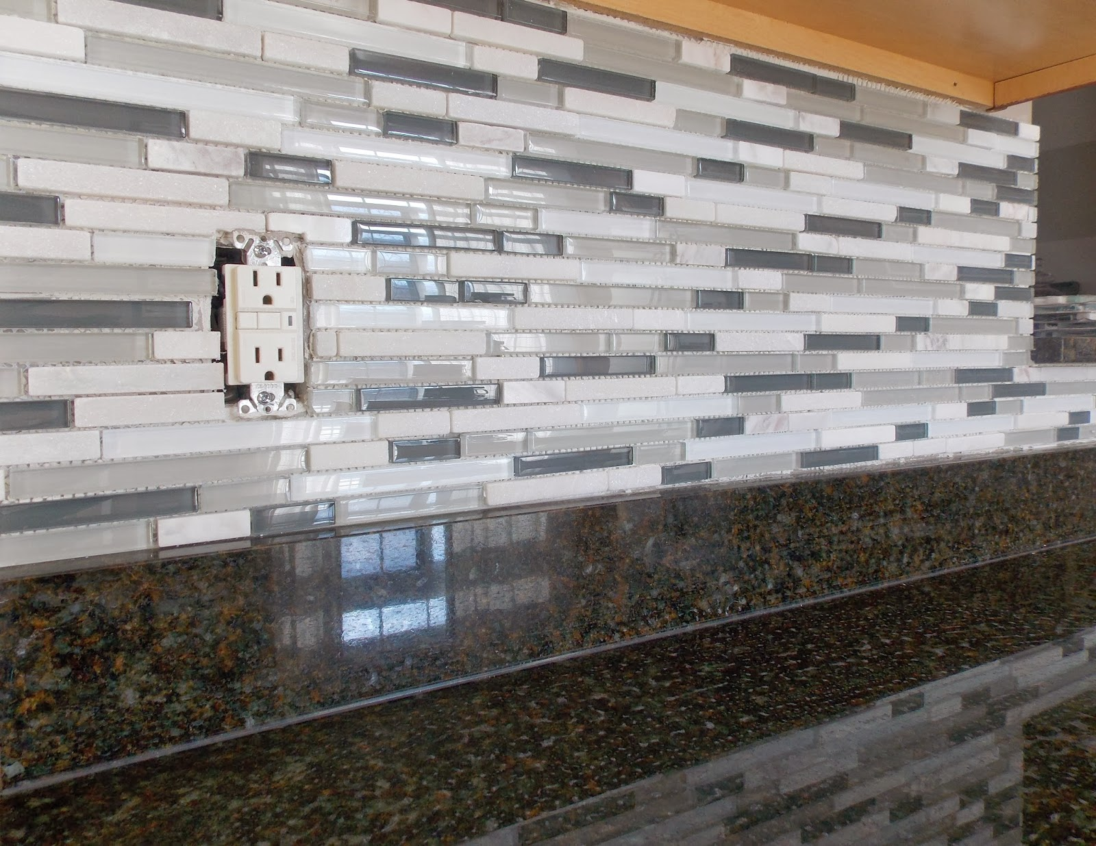 Allen And Roth Backsplash Part - 38: And The Finished Product.