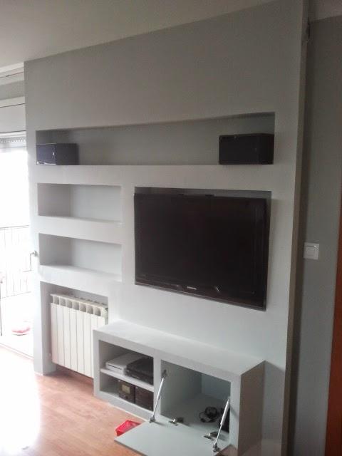 Pladur barcelona - Mueble de pladur ...